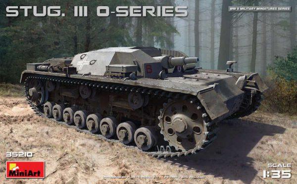 โมเดลรถถัง MINIART MI35210 STUG. III 0-SERIES 1/35