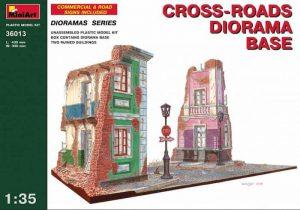 โมเดลฉาก Miniart 36013 CROSS-ROADS DIORAMA BASE 1:35