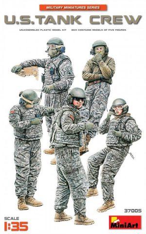 โมเดลทหารอเมริกัน MI37005 U.S. TANK CREW