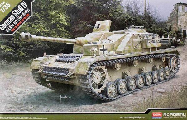 โมเดลรถถัง AC13522 GERMAN STUG IV SD.KFZ.167(VER.EARLY)