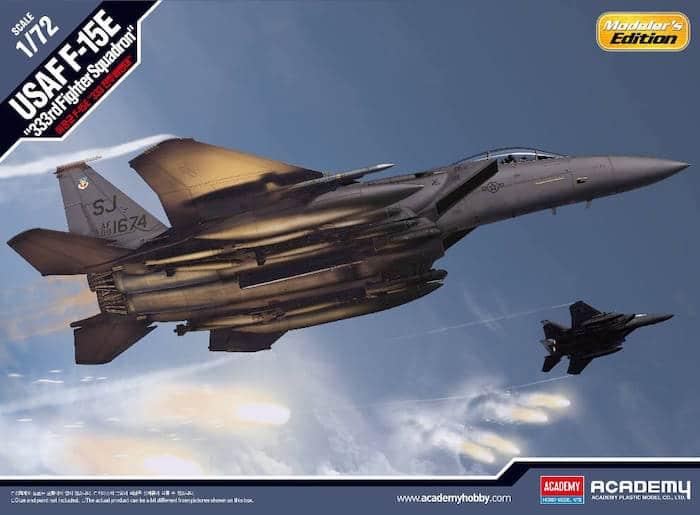 """โมเดลเครื่องบิน AC12550 F-15E """"333rd FIGHTER SQUADRON"""" 1/72"""