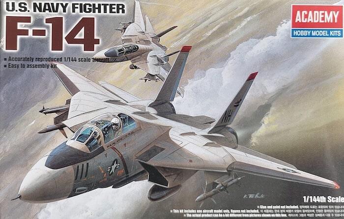 โมเดลเครื่องบิน ACADEMY AC12608 F-14 TOMCAT (1/144)