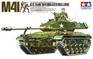 โมเดลรถถังเบา M41 WALKER BULDOG 1/35