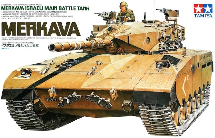 TAMIYA 35127 ISRAELI MERKAVA MBT 1/35