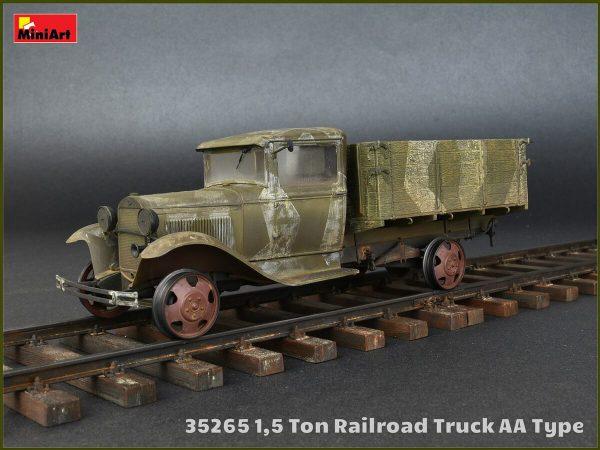 35265 โมเดลรถบรรทุก MI35265 1.5 TON RAILROAD TRUCK AA TYPE 1/35