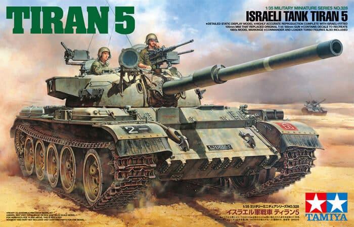 โมเดลรถถัง ทามิย่า 35328 Israeli Tiran 5 1/35