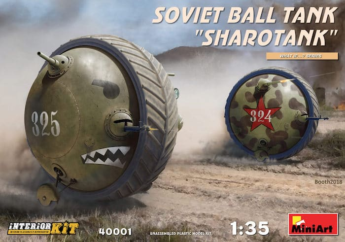 "MI40001 SOVIET BALL TANK ""Sharotank"" INTERIOR KIT 1/35"