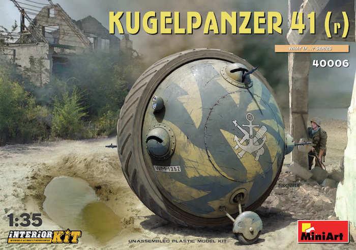 MI40006 Kugelpanzer 41( r ). INTERIOR KIT 1/35