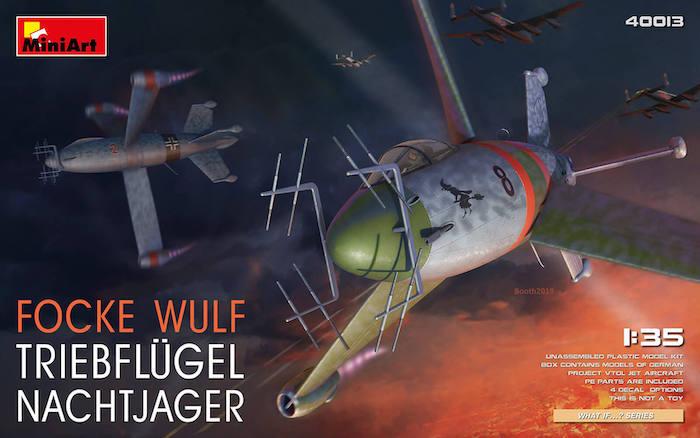 MI40013 FOCKE WULF TRIEBFLUGEL NACHTJAGER 1/35