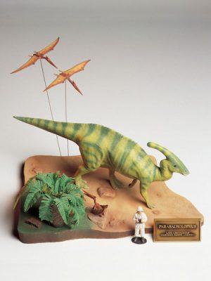โมเดลไดโนเสาร์ TAMIYA TA60103 PARASAUROLOPHUS DIORAMA SET 1/35