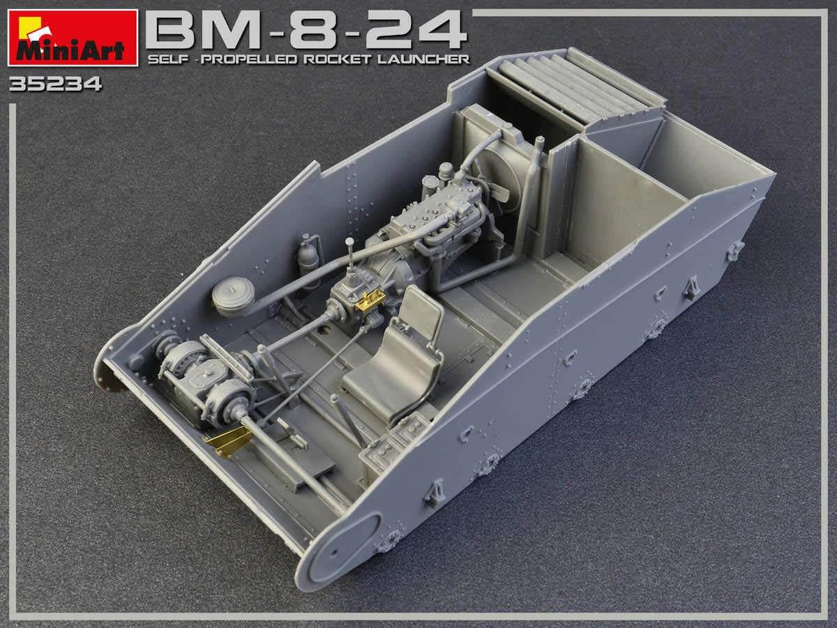 MI35234 BM-8-24 SELF-PROPELLED ROCKET LAUNCHER 1/35