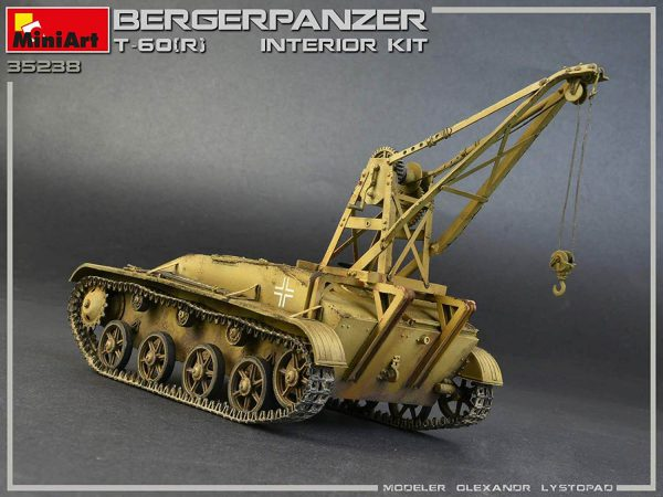 MI35238 BERGEPANZER T-60 ( r ) INTERIOR KIT 1/35