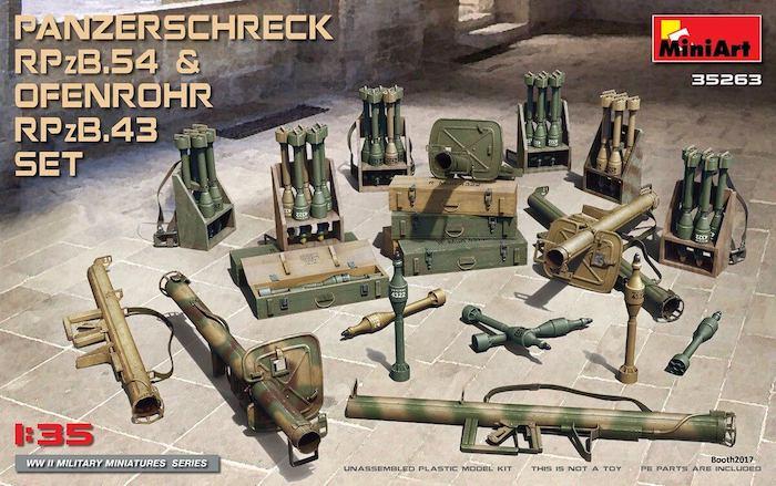 MI35263 PANZERSCHRECK RPzB.54 & OFENROHR RPzB.43 SET 1/35