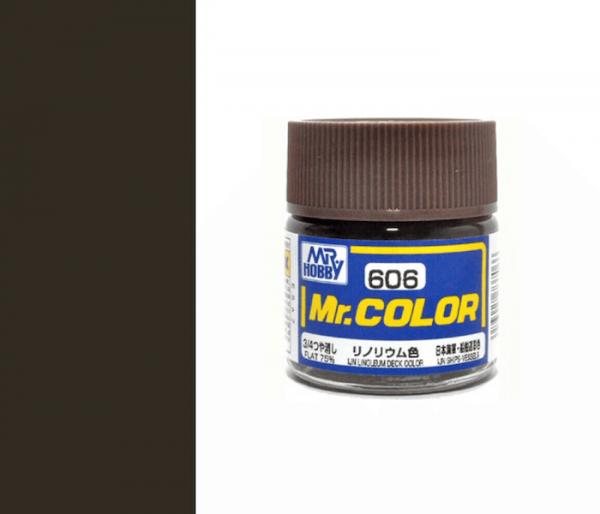 Mr.color C606 IJN LINOLEUM DECK COLOR (FLAT 75%) 10ML