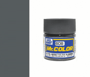 Mr.color C608 JMSDF 2705 DARK GRAY N4 (FLAT 75%) 10ML