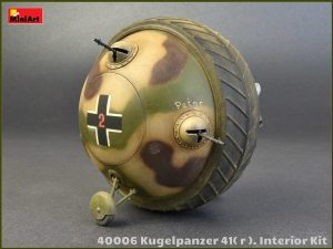 MI40006 Kugelpanzer 41( r ). INTERIOR KIT 1/35