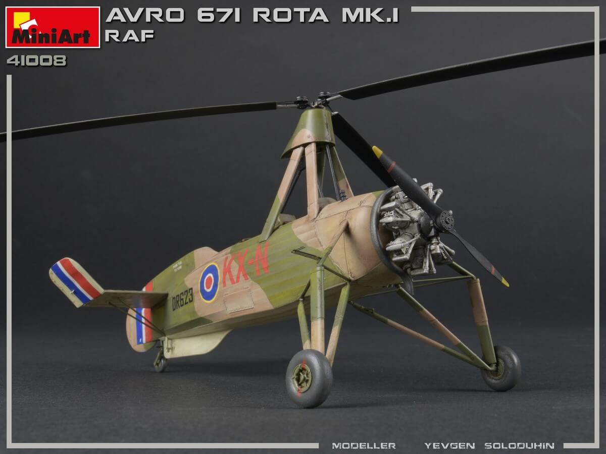 MI41008 AVRO 671 ROTA MK.I RAF 1/35