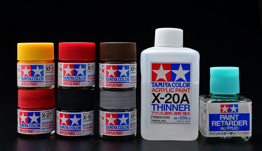 ทินเนอร์ Thinner X-20A 250ml (สูตรน้ำ)
