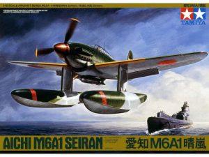 เครื่องบินทามิย่า TA61054 TAMIYA AICHI M6A1 SEIRAN 1/48