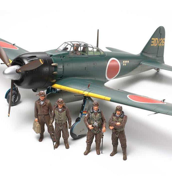 TA61103 TAMIYA MITSUBISHI A6M5/5a ZERO FIGHTER (ZEKE) 1/48