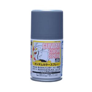 สีสเปรย์กันดั้ม SG09 Zeons MS Gray (Semi-Gloss) 100ml