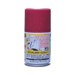 สีสเปรย์กันดั้ม SG11 MS Char's Red (Semi-Gloss) 100ml