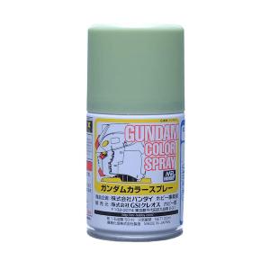 สีสเปรย์กันดั้ม SG06 MS Green (Semi-Gloss) 100ml