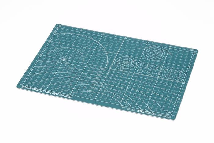 แผ่นรองตัด ทามิย่า Cutting Mat A4 Size / Green