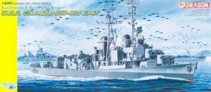 โมเดลเรือรบ Dragon DRA1046 USS CHEVALIER DD-805 1/350