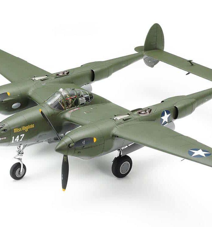 โมเดลเครื่องบิน 61120 LOCKHEED P-38 F/G LIGHTNING 1/48