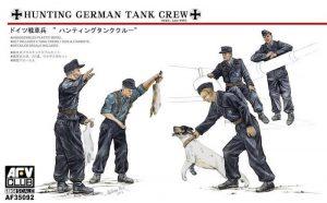 โมเดลฟิกเกอร์ AFV 35092 HUNTING GERMAN TANK CREW 1/35