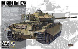 โมเดลรถถัง AFV 35124 IDF SHOUT kal 1973 1/35