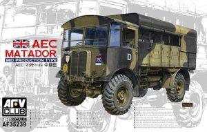 โมเดลรถ AFV 35239 AEC MATADO MIDDLE TYPE 1/35