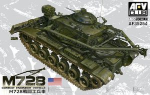 โมเดลรถ AFV 35254 COMBAT ENGINEER VEHICLE M728 1/35