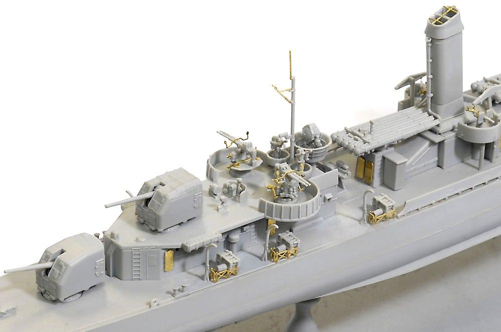 โมเดลเรือรบ Dragon DGM1032 USS Benson DD-421 1945 1/350