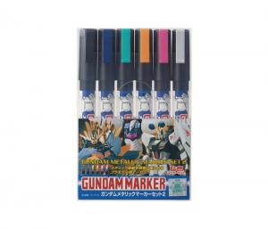 ปากกา กันดั้ม มาร์คเกอร์ GMS125 Gundam Metallic Marker Set 2