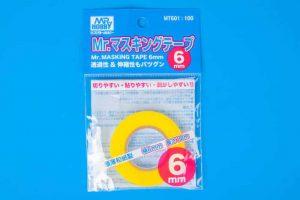 เทปบังพ่นคุณภาพ MT601 mr.masking tape 6mm