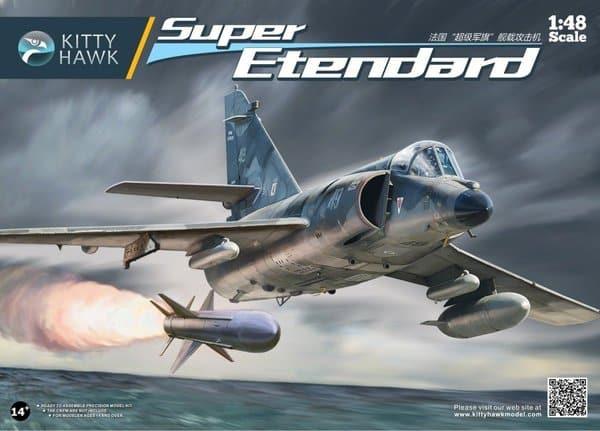 โมเดลเครื่องบิน Kittyhawk KH80138 Super Etendard 1/48