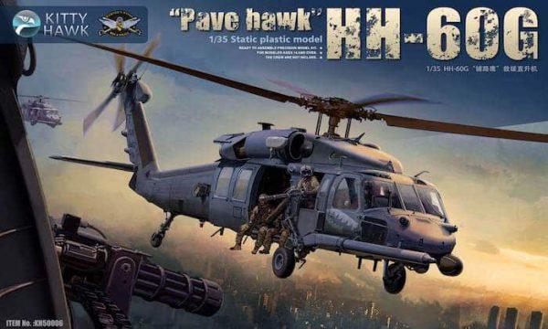 โมเดลเฮลิคอปเตอร์ HH-60G Pave Hawk w/Pilot Figure x2 1/35