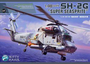 โมเดลเฮลิคอปเตอร์ Kittyhawk KH80126 SH-2G [Super Seasprite] 1/48
