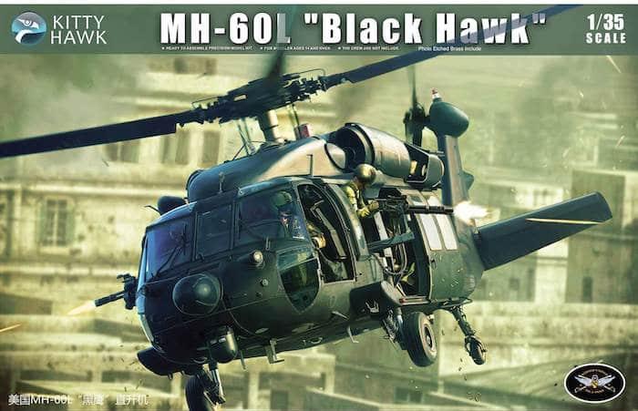 โมเดลเฮลิคอปเตอร์ Kittyhawk KH50005 MH-60L Blackhawk 1/35