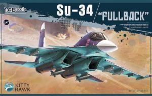 โมเดลเครื่องบินซุคฮอย KH80141 Sukhoi Su-34 Fullback 1/48