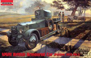 โมเดลรถ Roden British Rolls-Royce Armored Car Mk.I 1920 1/35