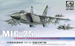 โมเดลเครื่องบิน AFV AF10001 MIG-25 1/100
