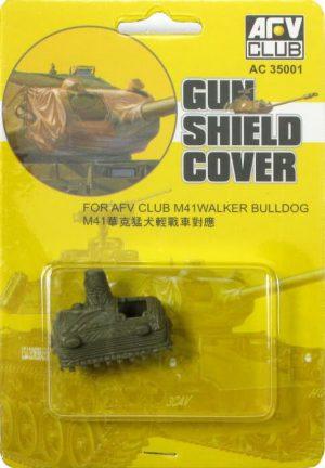 โมเดล AFV AF35001 M41 Gun Shield Cover 1/35