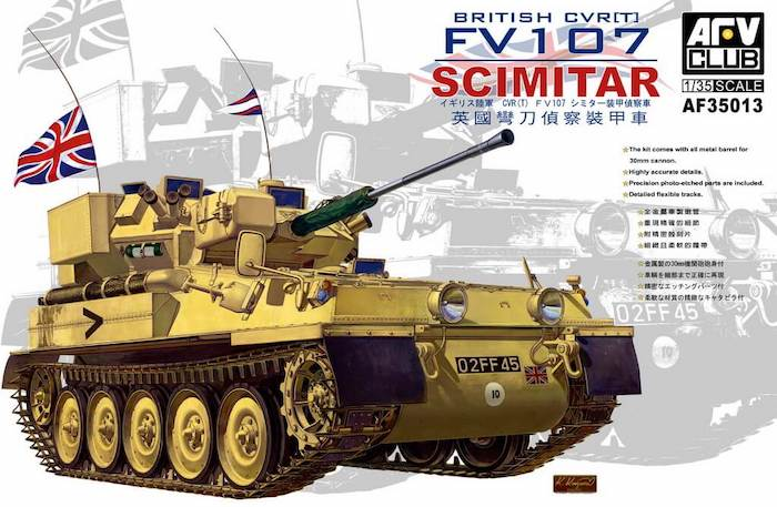 โมเดลรถถัง AFV AF35013 British CVR (T) FV107 1/35