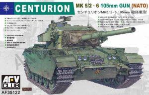 โมเดลรถถัง AFV AF35122 Centurion MK5/2 105mm ( NATO ) 1/35