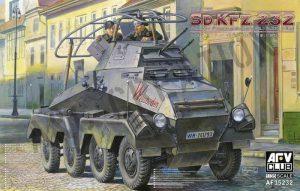 โมเดลรถถัง AFV AF35232 Sd.KFZ.232 Schwere Panzerspahwagen 1/35