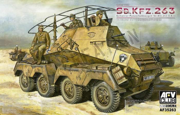 โมเดลรถถัง AFV AF35263 Panzerfunkwagen 1/35