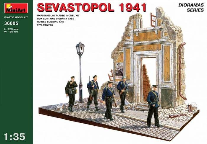 โมเดลฉากจำลอง MiniArt MI36005 Sevastopol 1941 1/35